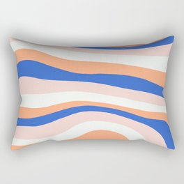 sunrise surf Rectangular Pillow