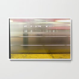 New York: Christopher St - Sheridan Square Metal Print