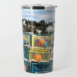 Lobster fishing season preparation Travel Mug