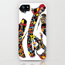 Lucky in chinese character iPhone Case