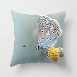 Composition in Yellow and Blue....  Throw Pillow