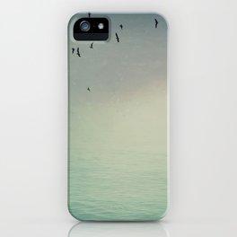 Emptiness In Between iPhone Case