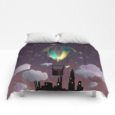 Balloon Aeronautics Night Comforters