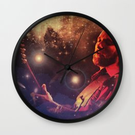 Stills In The Sky Wall Clock