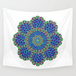 The Emerald Beyond Wall Tapestry