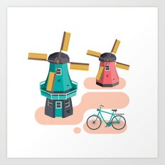 Holland Icon Art Print
