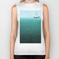 sail Biker Tanks featuring Sail by Kakel