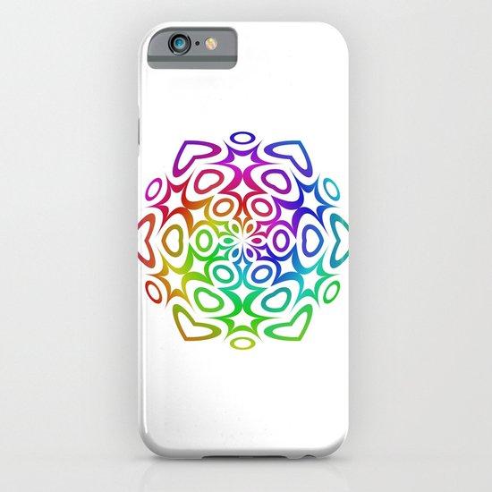 Rainbow ornament iPhone & iPod Case