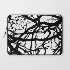 black branches Laptop Sleeve