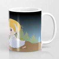 cinderella Mugs featuring Cinderella by 7pk2 online