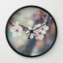 Cherry-tree Wall Clock