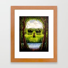 Beckoning From The Other Side Framed Art Print