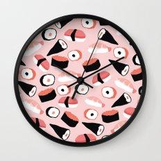 Sushi Party Wall Clock