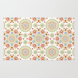 Flower Crown Carnival Rug