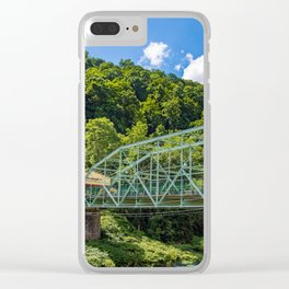 Johnstown, PA Inclined Plane Clear iPhone Case