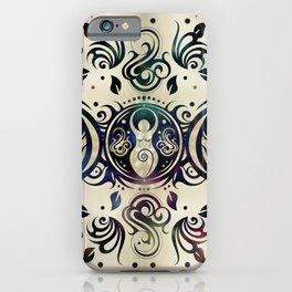 Triple Moon Goddess Moonlight purple #2 iPhone Case