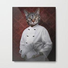 Chef Lola Metal Print