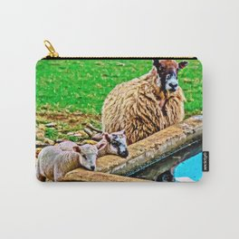 Thirsty Lambs   Carry-All Pouch