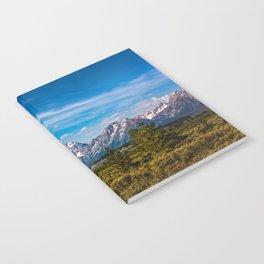 Teton Mountains Notebook