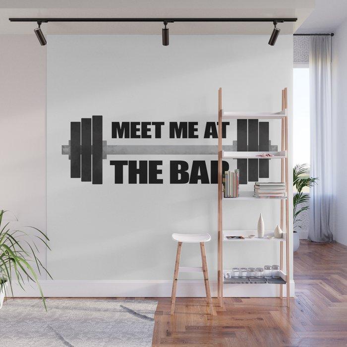 Meet Me At The Bar Wall Mural By Avenger Society6