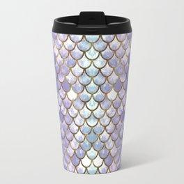 Pretty Mermaid Scales Travel Mug