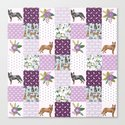 Australian Cattle Dog cheater quilt pattern dog lovers by pet friendly by petfriendly