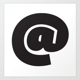 @ symbol Art Print
