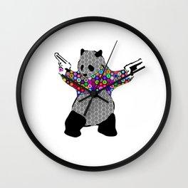 Bang Bang Panda Wall Clock