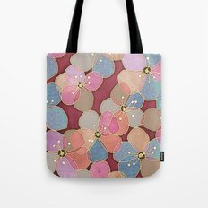 It's Always Summer Somewhere - translucent poppy doodle Tote Bag