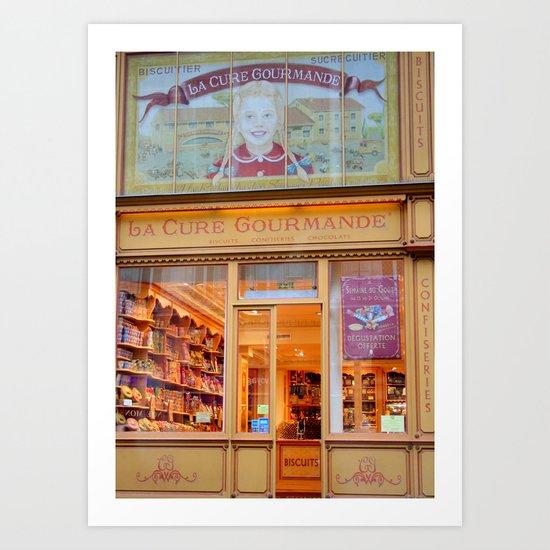 La Cure Gourmande, Paris Art Print
