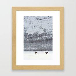 I Will Wait For You Framed Art Print