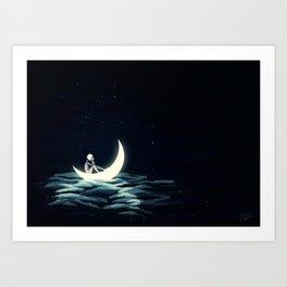 Fallen Sailor Art Print