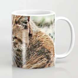 Toony Cat Coffee Mug