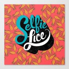 Selfie Lice Canvas Print