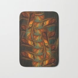 Abstract Totem Bath Mat