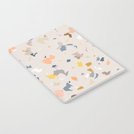 Lively Colorful Terrazzo Pattern Notebook