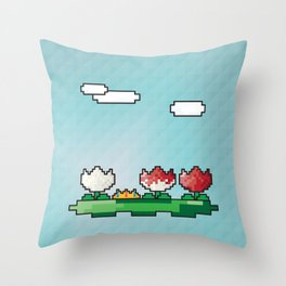 Off With Her Head Throw Pillow