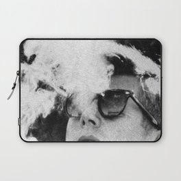 JFK Cigar and Sunglasses Cool President Photo Photo paper poster Laptop Sleeve
