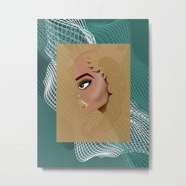 baddie01 Metal Print
