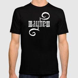 Unleash MAYHEM (Black) T-shirt