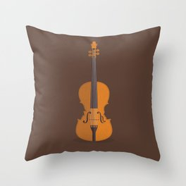 The Case of the Curious Stradivarius Throw Pillow