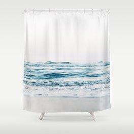 Kiss Me Like A Wave Shower Curtain