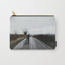 moody winter lanes Carry-All Pouch