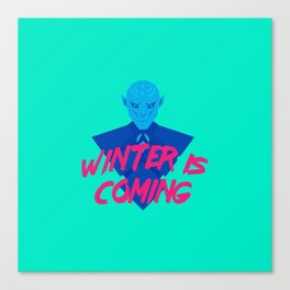 Inverno is Coming Canvas Print