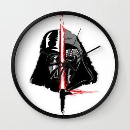 Vader/Ren Wall Clock