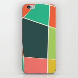 Colorful mosaic for your home iPhone Skin