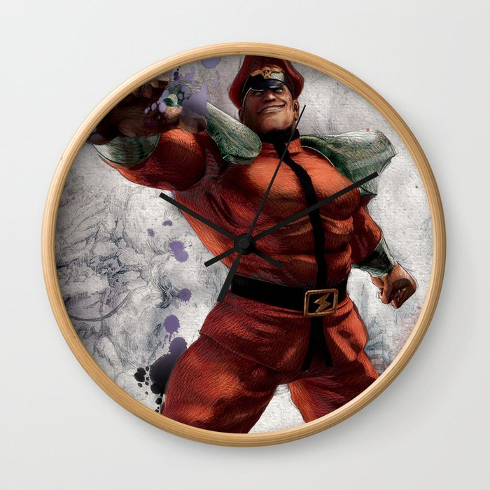 M Bison Wall Clock