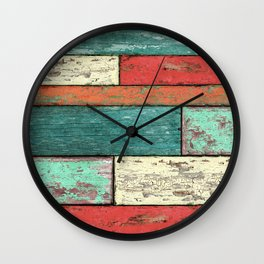 Cubic Wood Wall Clock