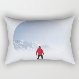 Portal to the Summit Rectangular Pillow