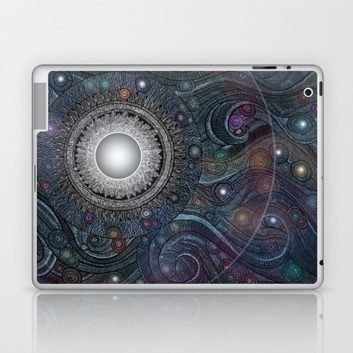 Feather Moon Laptop & iPad Skin